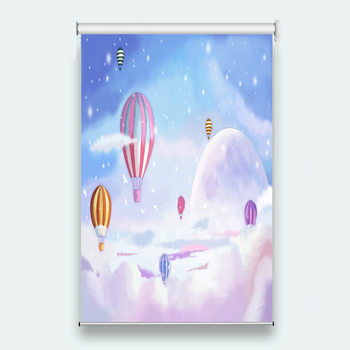 Customize High Quality Roller Blinds balloon Any room decoration Roller Blinds roller shutters for window