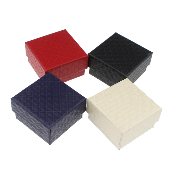 Fashion Jewelry Box Gift Boxes Jewelery Accessories Packaging For Rings Earrings Size 5x5x3cm