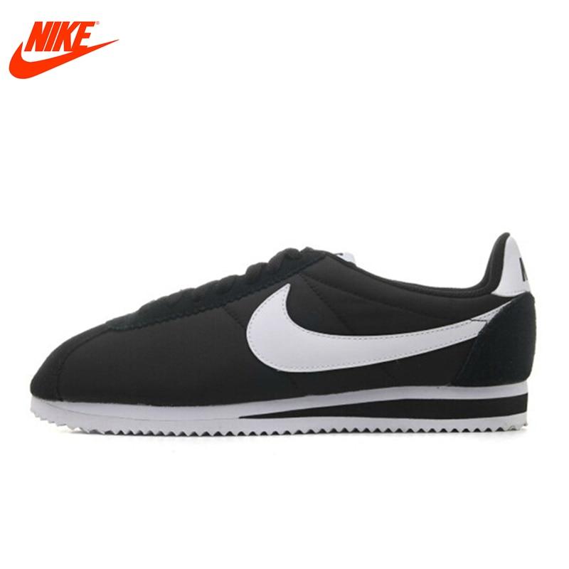 Original Nike CLASSIC CORTEZ NYLON men's Skateboarding Shoes Breathable sneakers Classique Comfortable Breathable original nike wmns classic cortez nylon women s skateboarding shoes sneakers