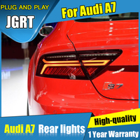 NEW Car styling Accessories for Audi A7 rear Lights led TailLight 2012 2017 for A7 Rear Lamp DRL+Brake+Park+Signal lights