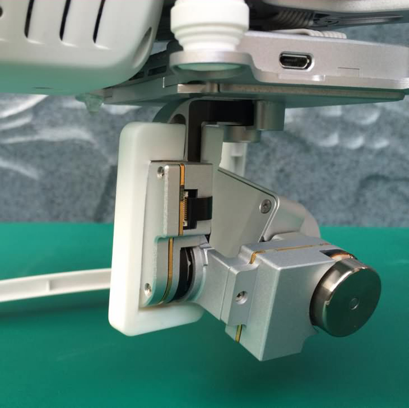 DJI Phantom 3 cradle head protection frame protection camera lens protector PTZ camera fall protection frame accessories