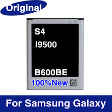Real teléfonos originales de la batería B600BE 2600 mAh para Samsung I9500 Galaxy S4 SIV celular del teléfono móvil de litio Li ion