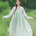 Women's Cosplay Costume dance clothes fairy princess tang suit hanfu queen Chinese ancient clothing