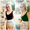 Sexy Crop Top Knitted Tank top Women Blouse 5