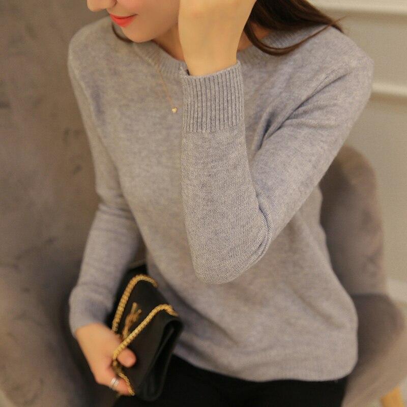 Pull tricoté en cachemire pour femme