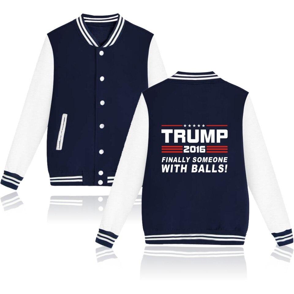 US $18.99 20% OFF|Herbst Jacken Donald Trump Jacke Heißer Verkauf Trump Frauen Winter Jacken und Mäntel Elegantes Hemd XXS 4XL in Herbst Jacken Donald