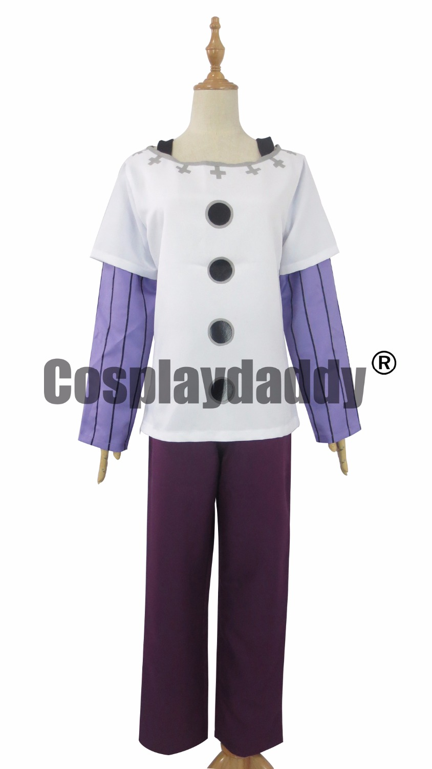 The Seven Deadly Sins Nanatsu no Taizai Gowther Outfit Cosplay Costume A018