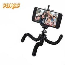 Aluminum practical mini  Tripod mobile phone smartphone camera tripod stand clip bracket holder mount adapter for xiaomi phone
