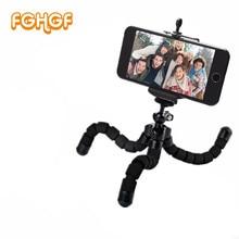 Aluminum practical mini mobile phone smartphone camera tripod stand clip bracket holder mount adapter for gopro 4K