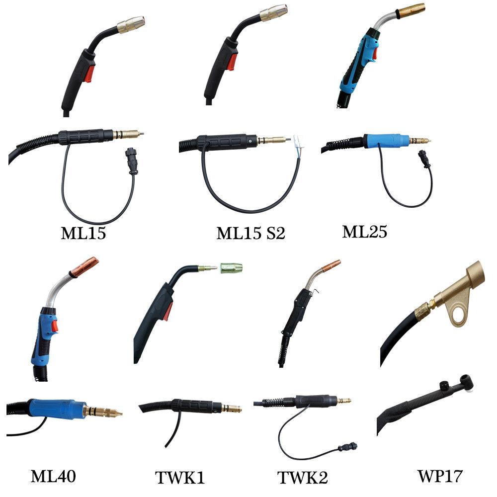 M25 MIG Welding Torch Miller HTP 169598 250Amp 15ft Stinger Welder
