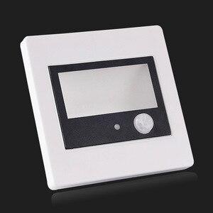 Детектор движения ПИР + датчик света, светодиодная лампа для лестницы, инфракрасная Индукционная лампа для человеческого тела, потолочные Настенные светильники, 86 коробок