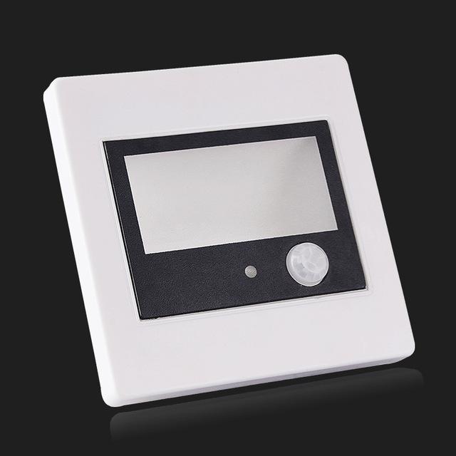 PIR motion Detector+ Light sensor led stair light led infrared human body induction lamp
