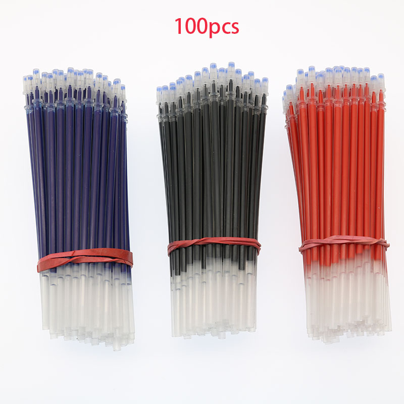 Wholesale! 100pcs / Gel Pen Filling Kit 0.5m Needle Gel Pen Replacement Office And School Supplies