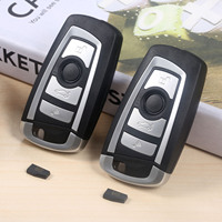 2Pc Modified Flip 4Button 433MHZ Auto Remote Key HU92 ID44 PCF7935 Chip For BMW 325 330 318 525 530 540 E38 E39 E46 M5 X3 X5 E65