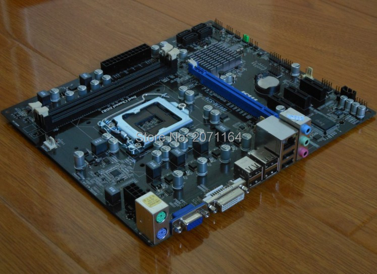 Free shipping for MSI H61M-S26 supports 1155 I3 I5 I7 solid-state integrated small plate free shipping for mingxuan ms g41ml s3 775 needle g41 fully integrated small board supports ddr2 ddr3 test all good