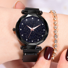 Fashion Luxury Rose Gold  Women Watches High Quality Ultra Thin Quartz Watch Woman Elegant  Starry Sky Ladies Watch Montre Femme belbi luxury brand silver women watches fashion ultra thin quartz watch woman elegant dress ladies watch montre femme