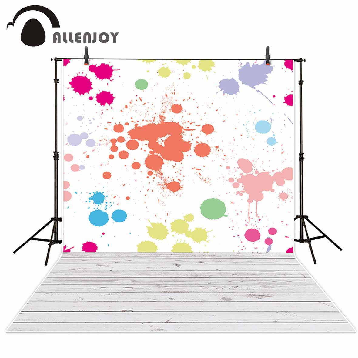 Allenjoy Fotografie Hintergrund Tinte Kreative Malerei Kinder Moderne Neuheiten Original Design Fr FotostudioChina