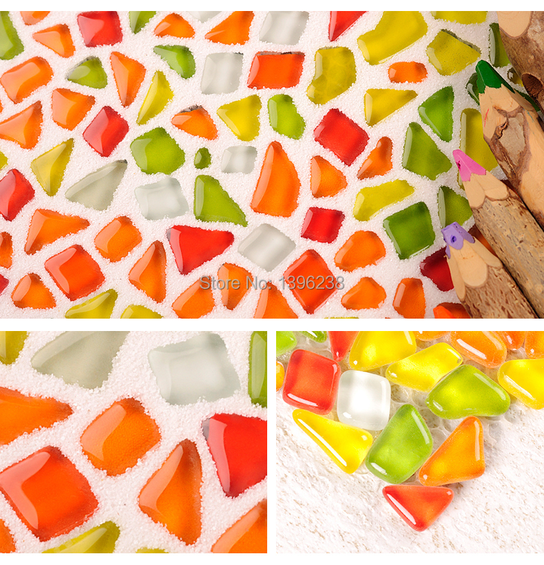 Lovely Bubble Crystal Glass Wall Tiles, Colourful Glass Mosaic Tile Kitchen Backsplash Wall Panel Decorative Materials,LSZYS04 ocean blue pearl shell mosaic tile gray natural marble kitchen backsplash sea shell tiles subway glass conch wall tiles lsbk53