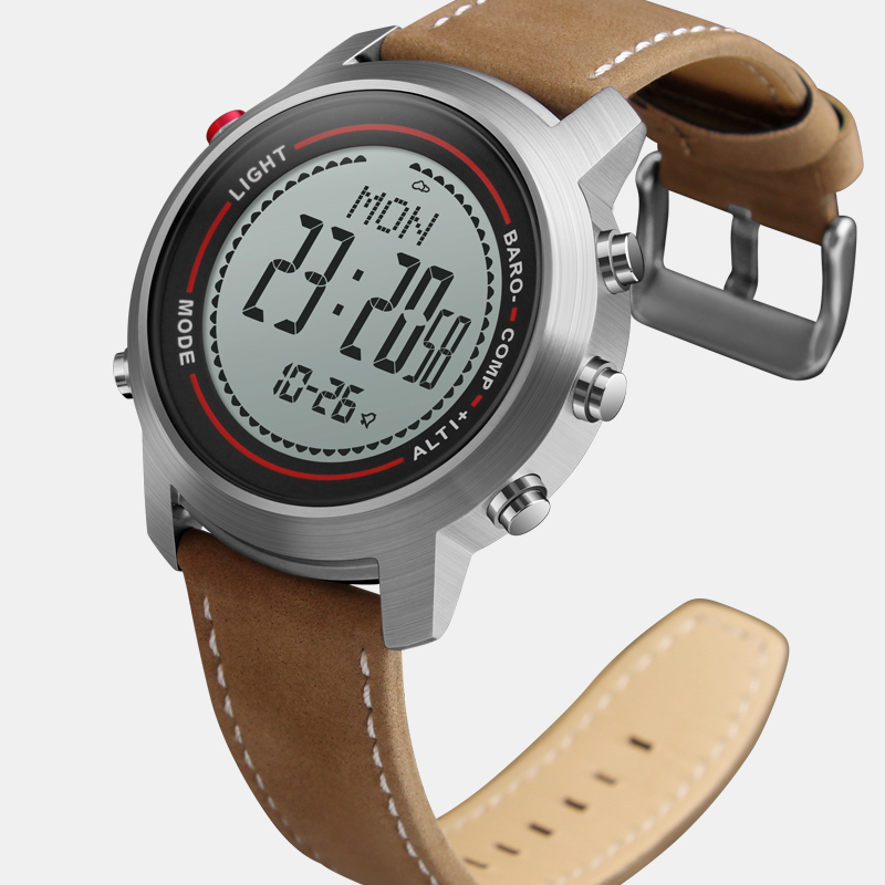CAINO Outdoor Compass Sports Watch Men Digital Wristwatches Mountain Altitude Pressure Countdown Waterproof Relogio Masculino купить в Москве 2019