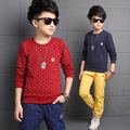 Baby Clothes Big Boy Cotton Children Casual Suits High Quality Long-sleeve Kid Clothing Sets Autumn Teeange Coats 4 6 8 10 12 14