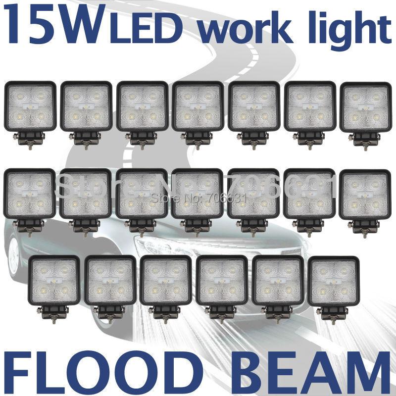 7c800d3babd Tkeapl THTMH 20 UNIDS 5 * 3W15W 12 V 24 V Viga de la Inundación LED Luz de  Trabajo Off Road Vehículo barco 4WD 4X4