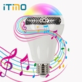 iTimo Music Light Multifunctional Led Bulb Speaker Wireless Color Changing Decorative Night Lights Bluetooth 4.0 Novelty
