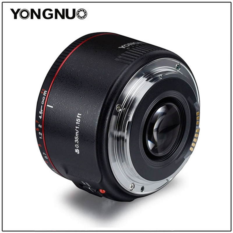 Image 3 - YONGNUO YN50mm F1.8 II Large Aperture Auto Focus Lens 50mm Lentes For Canon 100d 650d 5d 77d 500d 1000d 5DIV 5DIII 5DII 5D 60D-in Camera Lens from Consumer Electronics