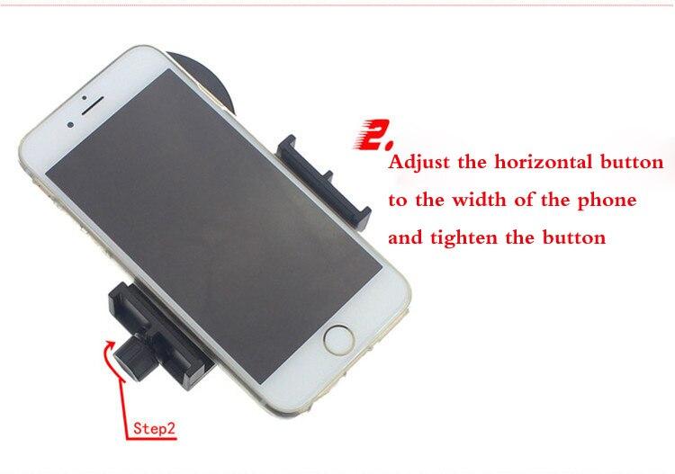 Telescópio adaptador de telefone para binóculos monoculares