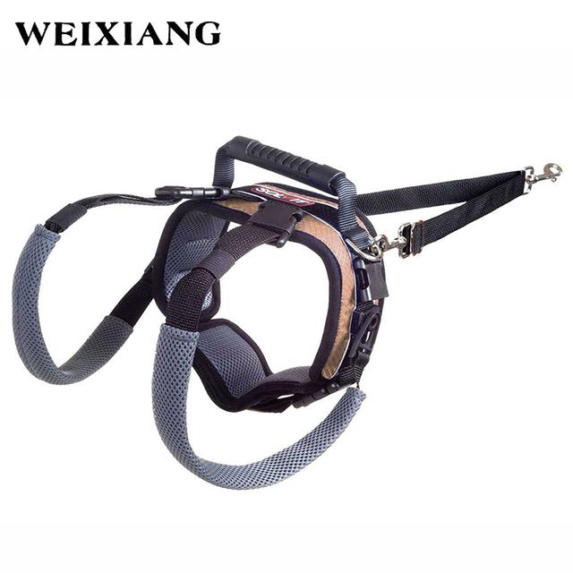 16-32Kg Perros Arnés Porción Posterior Elevación Ayuda Cinturón Almohadillas Para Mayores Heridas Inválida Perro 62364