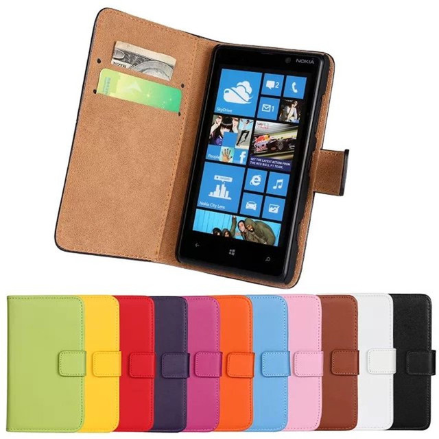 buy popular 677aa 1a125 US $7.99  For Nokia Lumia 820 Case Luxury Wallet PU Leather Back Cover  Phone Case For Nokia Lumia 820 Case Flip Protective Cover Bag-in Wallet  Cases ...