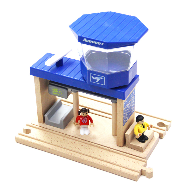 P186 Thomas Train Toys Rail Range Airport Brio Thomas And Friends Car Children's Toys Construction Models Of Motor Toys