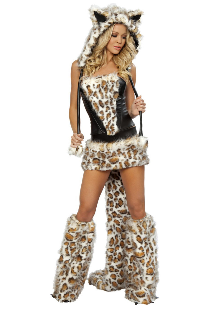 Newest Deluxe Frisky Cheetah Costumes for Women Halloween Costume Women Cosplay Costumes Free Shipping-in Sexy Costumes from Novelty u0026 Special Use on ...  sc 1 st  AliExpress.com & Newest Deluxe Frisky Cheetah Costumes for Women Halloween Costume ...