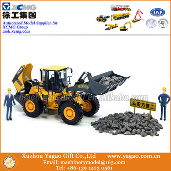 1:35 Scale Model, Diecast Toy, Construction Model,  Craft, Gift, Souvenir, XCMG ZL50G  Wheel Loader Model