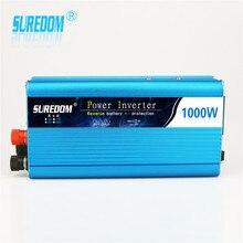 1000w Solar Inverter Multifunctional Travel Power Supply Control Dual USB Car inverter 12V 24V 110V 220V Circuit protection