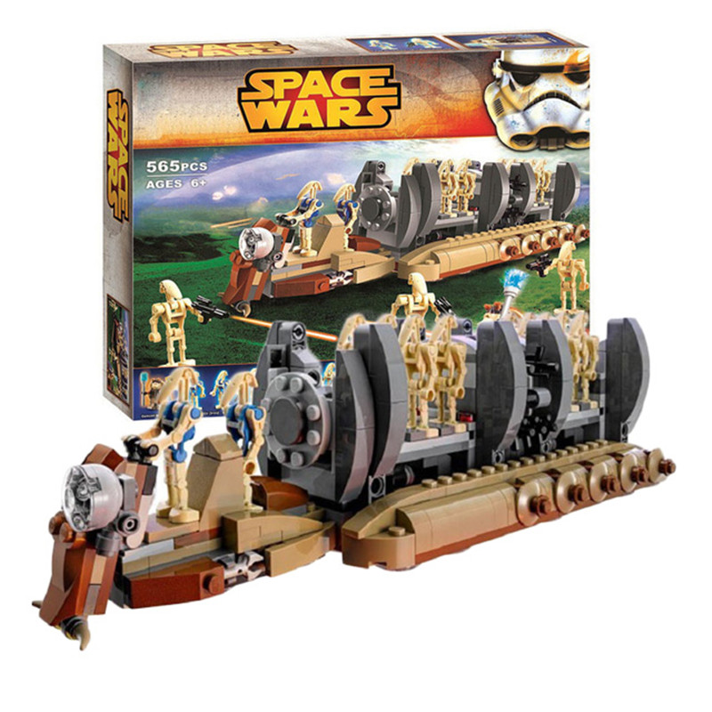 NEW Building Blocks 10374 Compatible With Legoing 75086 Star Space Wars Figures Battle Droid Troop Carrier DIY Toy Toys Gifts
