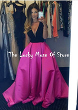 Schönen langen billig prom kleider tiefen v- Hals capped Sweep zug arabisch festzug abendkleider für frauen vestidos de baile online