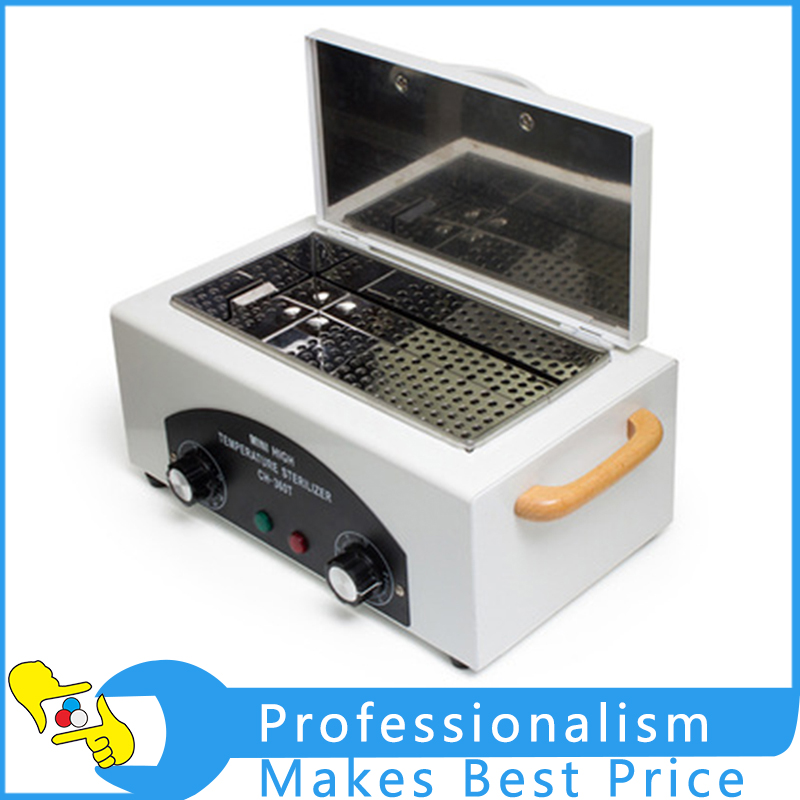 High Temperature Sterilizer for Nail Tools Autoclave Dental Sterilizer Nail Art Tools Sterilizer CH-360T nail sterilizer disinfect machine high temperature for metal tattoo art nipper tools with clean pot 10l
