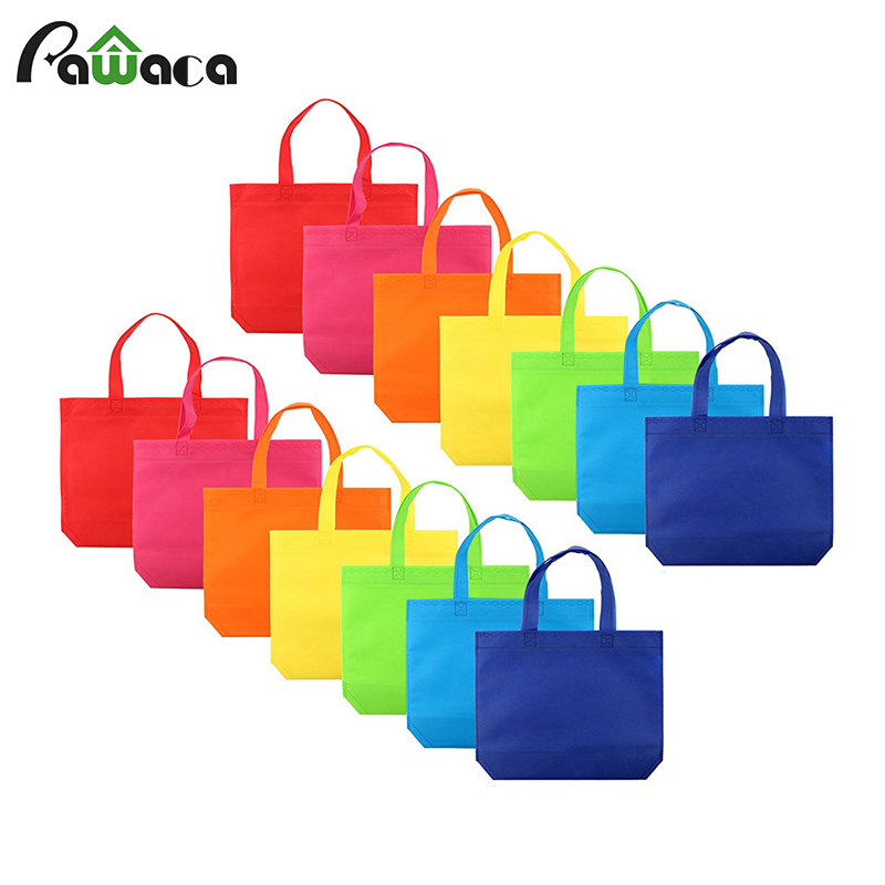 14 pcs/ set Gift Tote Bags DIY Party Favor Non-woven Blank Bags 7 Assorted Bright Color with Handle Shopping Bags  DIY Gift Bags14 pcs/ set Gift Tote Bags DIY Party Favor Non-woven Blank Bags 7 Assorted Bright Color with Handle Shopping Bags  DIY Gift Bags