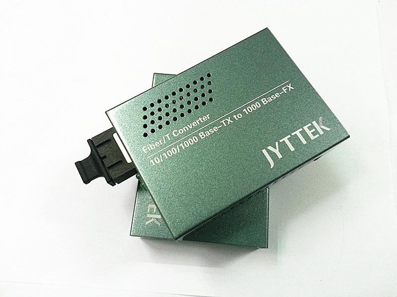 기가비트 단일 모드 이중 화이버 미디어 컨버터 광 - 통신 장비 - 사진 2