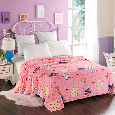 Cheap Hot sale 200x230cm Fleece Blanket super warm soft blandets throw winter blanket on Sofa Bed Plane Travel bedspreads sheets