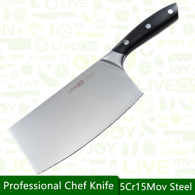 Free Shipping LIVEON Stainless Steel Household Multifunctional Slicing font b Knife b font Kitchen Chef Cut