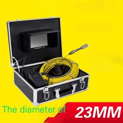 Высокой четкости трубопровода промышленная камера эндоскоп машина канализационные видеодетектор отверстие внутри хорошо мониторинга imager