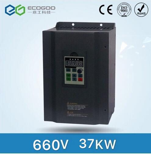 3 phase 660V 37KW Frequency inverter/frequency converter/ac drive/AC motor drive/speed control 3 phase 380v 110kw frequency inverter frequency converter ac drive ac motor drive