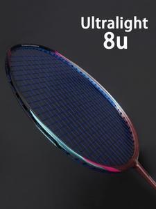 Badminton-Racket Light-Weight Raquette Carbon-Fiber Padel Sports-Force Professional 8U