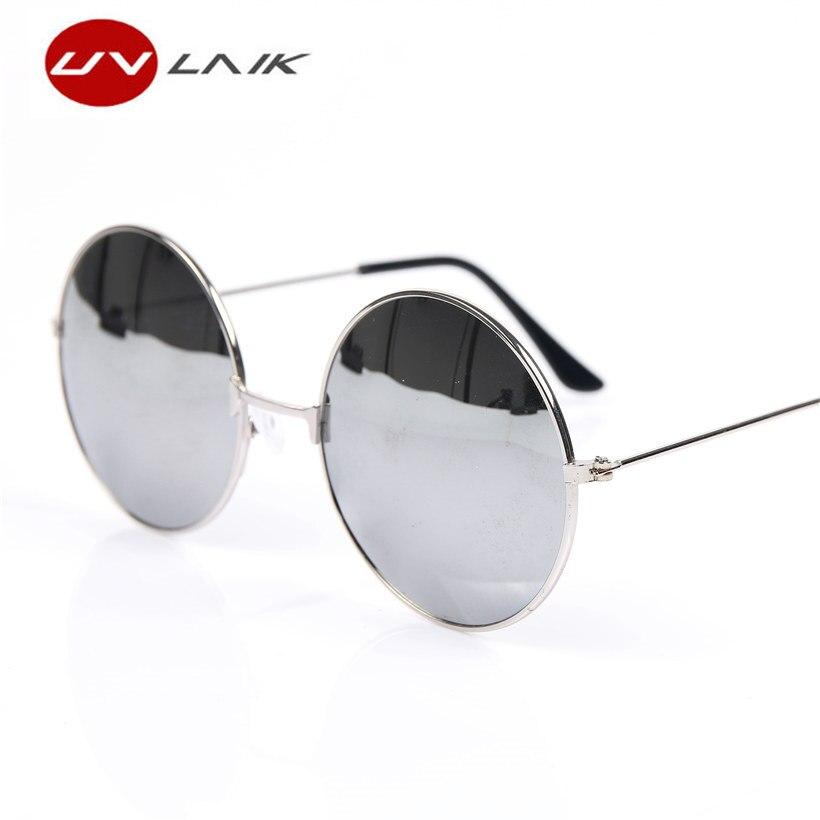 5ccc899bcc23b UVLAIK Marca Original Círculo Redondo Retro Dos Óculos De Sol de Beleza Do  Vintage Dos Homens Das Mulheres Óculos de Sol UV400 Óculos de Proteção