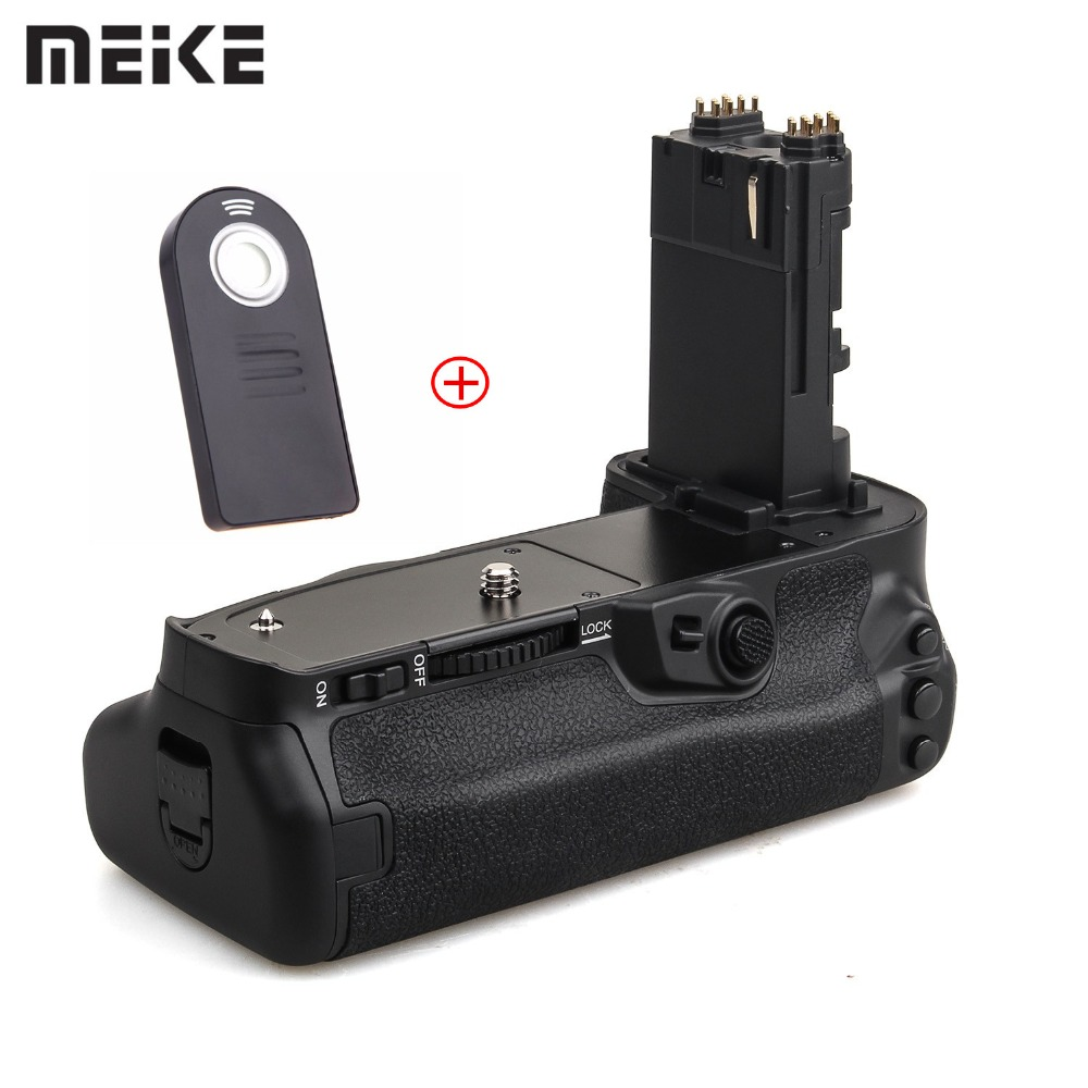 Meike MK-5D4 Multi-Power Battery <font><b>Grip</b></font> Pack for Canon EOS <font><b>5D</b></font> <font><b>mark</b></font> <font><b>IV</b></font> Camera as BG-E20 Replacement works with ES IR Remote image