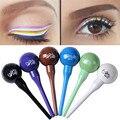 Waterproof Eyeliner Long Lasting Lollipop Shape Colorful Makeup Cosmetic Liquid Eye Liner Pencil Makeup Delineador Eyeliner Pen