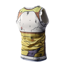 Dragon Ball Z Summer Bodybuilding Compression Tank Top