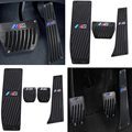 Car Accessory Aluminum Footrest M Pedal Pad Set For BMW X1 E30 E36 E46 E90 E87 E92 E93 car-styling