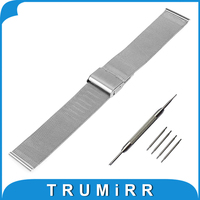 16mm 18mm 20mm 22mm Milanese Watchband For Omega Men Women Watch Band Mesh Stainless Steel Strap